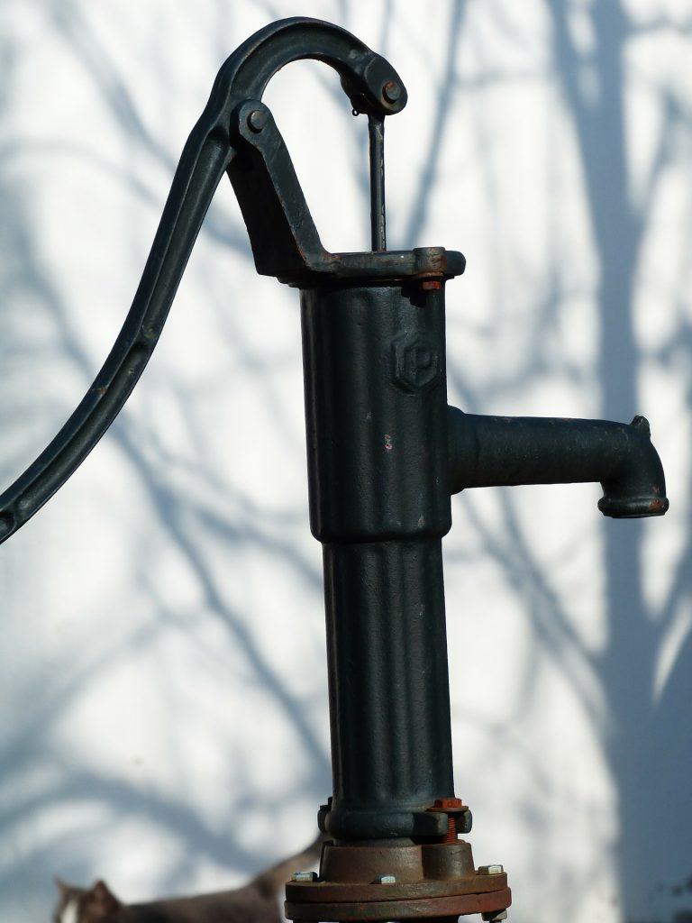 différents types de Pompe à eau