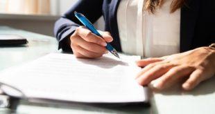 Comment faire une lettre de démission